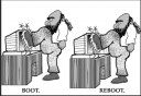 reboot your pc