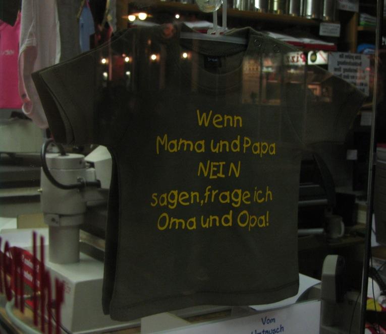 shirt mami papi opa oma positiverdenken.de