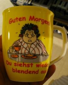 """Tasse """"Guten Morgen"""""""